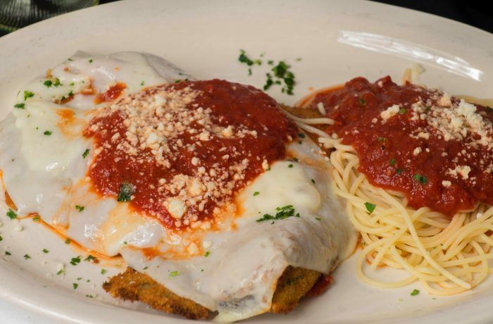 Chicken Parmigiana $21