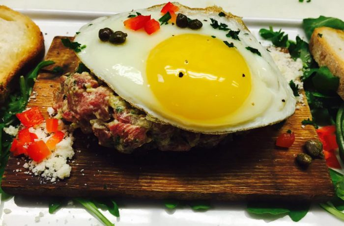 Gratzzi Steak Tartare $15 GF